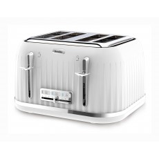 Breville Impressions Collection White 4 Slice Toaster