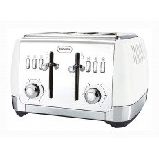 Breville Strata Collection White 4 Slice Toaster