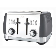 Breville Strata Collection 4 Slice Toaster Grey