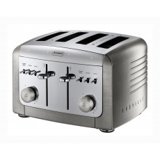 Breville Elements Premium Brushed Steel 4 Slice Toaster