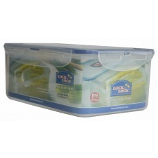 Lock & Lock Rectangular 2.3L Plastic Storage Container