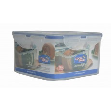 Lock & Lock Square 1.2L Plastic Storage Container
