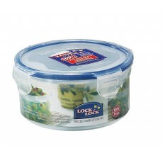 Lock & Lock Round 600ml Plastic Storage Container