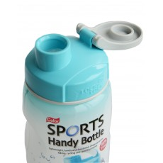 Lock & Lock Blue 500ml Sports Handy Bottle c/w Carry Strap