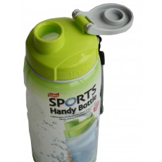 Lock & Lock Green 500ml Sports Handy Bottle c/w Carry Strap
