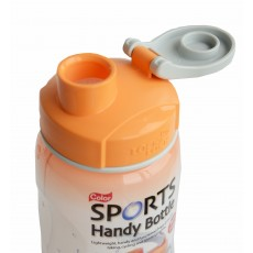 Lock & Lock Orange 500ml Sports Handy Bottle c/w Carry Strap