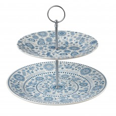 Churchill Penzance 2 Tier Cake Stand