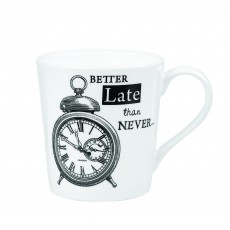 Churchill About Time Alarm Clock Mug