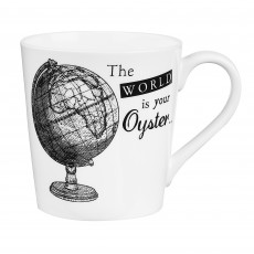 Churchill About Time Globe Mug