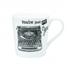 Churchill About Time Typewriter Mug