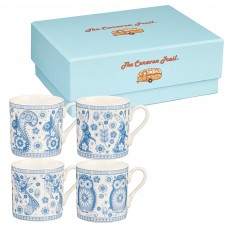 Churchill Penzance Set of 4 Espresso Mugs