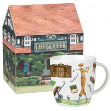 Churchill At Your Leisure ''The Golfer'' Mug