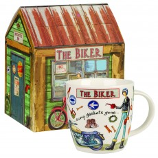 Churchill At Your Leisure ''The Biker'' Mug