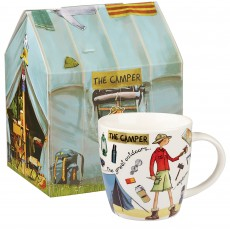 Churchill At Your Leisure ''The Camper'' Mug