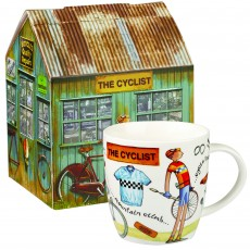 Churchill At Your Leisure ''The Cyclist'' Mug