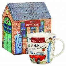 Churchill At Your Leisure ''The Mechanic'' Mug