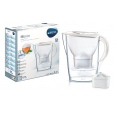 BRITA Marella 2.4L Water Filter Jug White