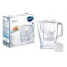 BRITA Aluna 2.4L Water Filter Jug Cool White