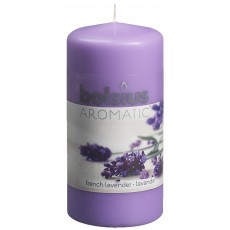 Bolsius Aromatic 12cm French Lavender Pillar Candle
