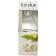 Bolsius Aromatic 45ml Lily Of The Valley Reed Diffuser