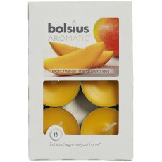 Bolsius Aromatic Exotic Mango Tealights Set of 6