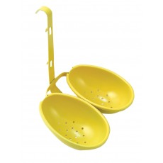 Eddingtons Yellow Double Egg Poacher