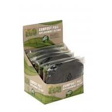 Eddingtons Compost Pail Set of 2 Carbon Replacement Filters
