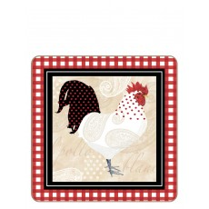 iStyle My Home Cockerel Set of 4 Coasters