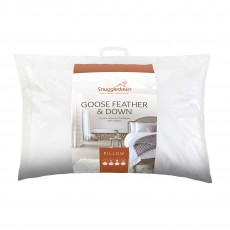 Snuggledown Goose Feather & Down Medium/Firm Pillow