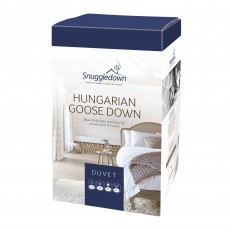 Snuggledown Hungarian Goose Down Super King Duvet 10.5 Tog