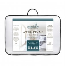 Snuggledown Wash & Dry Me Single Mattress Topper