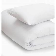 Belledorm 200 Thread Count Duvet Cover Double White