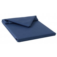 Belledorm 200 Thread Count Flat Sheet Single Navy