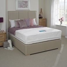 SleepSpa Gel Serene 2000 Pocket Double (135cm) Firm Edge Divan Set