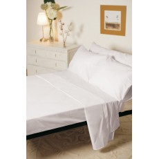 Belledorm 1000 Thread Count Egyptian Cotton King Flat Sheet White