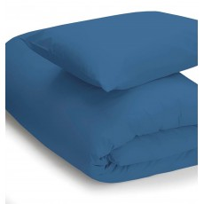 Belledorm 200 Thread Count Super King Duvet Cover Cobalt
