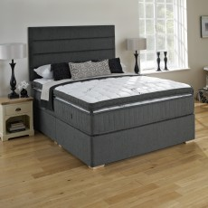 King Koil Extended Life Plus Single (90cm) Platform Top 2 Drawer Divan Set