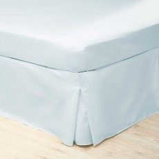 Belledorm 200 Thread Count Box Pleated Valance Duck Egg