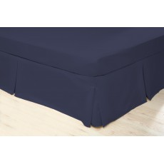 Belledorm 200 Thread Count King Valance Navy