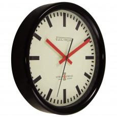 Swiss Station Wall Clock