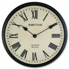 Large Wall Clock With Roman Numerals