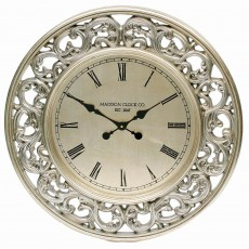 Mindy Brownes Gannon Clock Silver