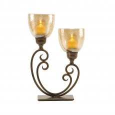 Mindy Brownes 2 Light Hurricane Candleholder