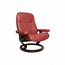 Stressless Consul Small Chair With Classic Base Batick Leather