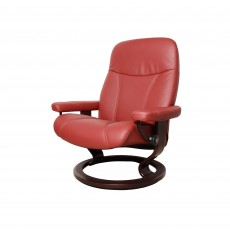 Stressless Consul Medium Chair With Classic Base Paloma Leather