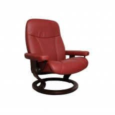 Stressless Consul Medium Chair With Classic Base Noblesse Leather