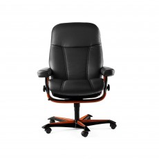 Stressless Consul Office Swivel Chair Noblesse Leather