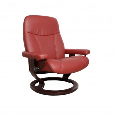 Stressless Consul Large Chair With Classic Base Batick Leather