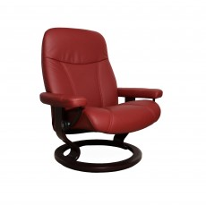 Stressless Consul Large Chair With Classic Base Noblesse Leather