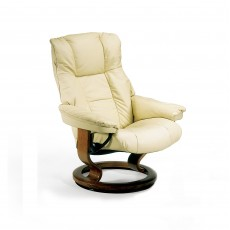 Stressless Mayfair Medium Chair With Classic Base Batick Leather